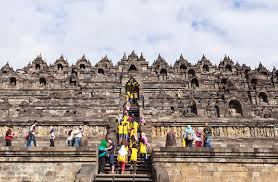 Download Borobudur Heritage In Yogyakarta Indonesia Editorial Image