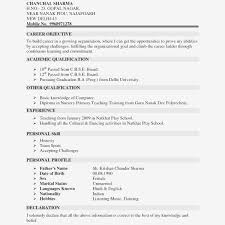 Sample Resume Template With Picture Resume And Cover Letter
