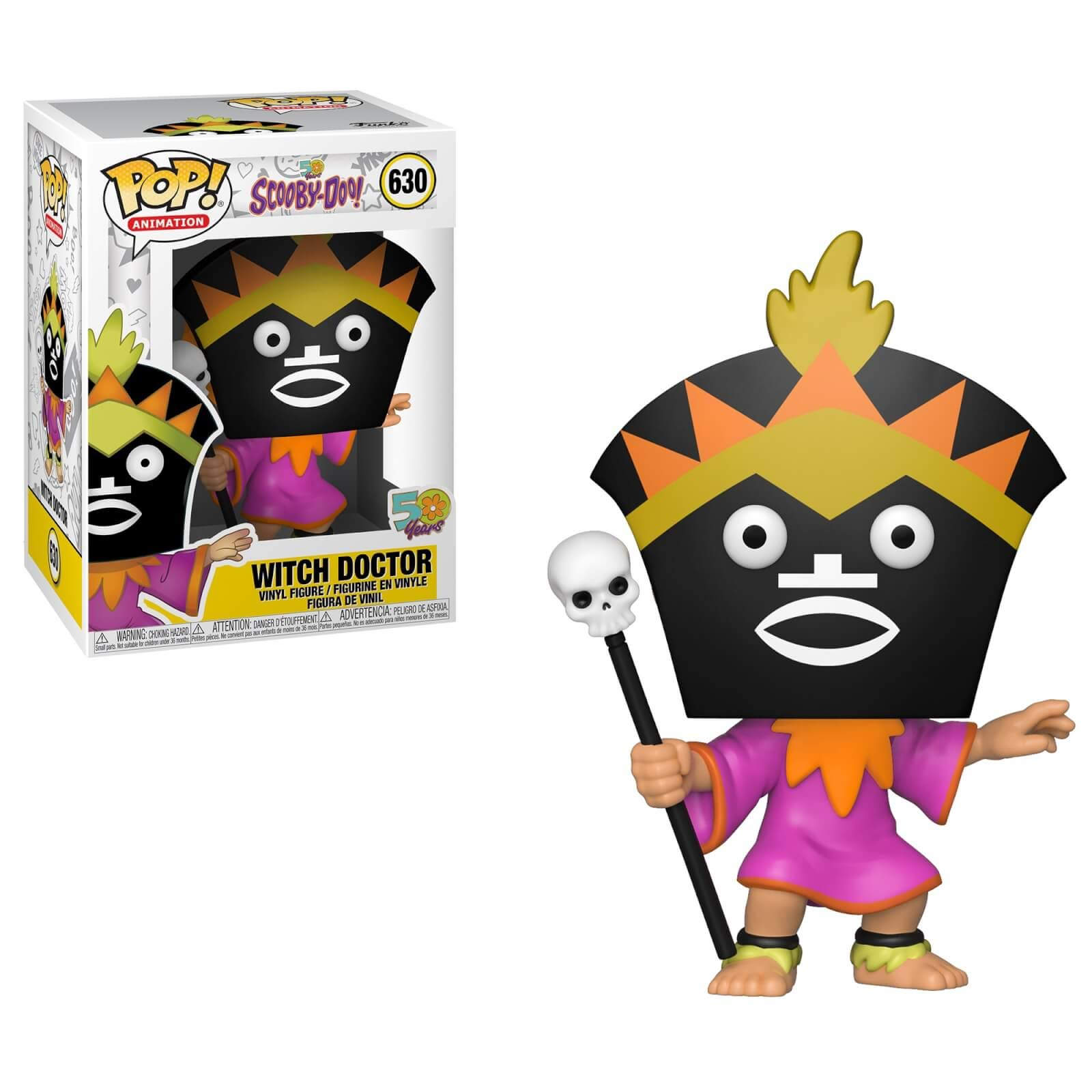 Funko Witch Doctor - Scooby-Doo: Pop! Animation