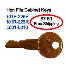 hon file cabinet key replacements l001 l010 ebay