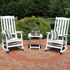 Sunnydaze All-Weather Rocking Chair Set Of 2 With Folding Side Table ... High Back Rocking Chair All Weather Rocking Chairs Disworldwidetravelwebsite Bradley White Slat Patio Chair200swrta The Home Depot Portside Plantation All Weather Wicker Tortuga Sunnydaze Allweather With Faux Wood Design Bf Hanover Black Pineapple Cay Porch Rockerhvr100bl Classic Sea Pines Table Bundle Livingroom Splendid Best Chairs Amazoncom Wooden Folding Sling Cheap Sale Find Bayview Outdoor My