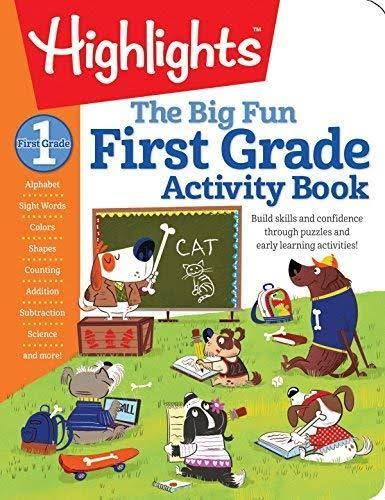 Highlights The Big Fun First Grade Activity Book