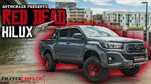 100 Truck Rims 4x4 BRAND NEW 2019 RED DEAD HILUX Toyota Hilux Fuel Zephyr Wheels Tyres Lift Kit Accessories