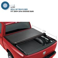 100 How To Make A Truck Bed Cover Fits 20092016 Dodge Ram 1500 57 Ft Vinyl Lock Roll Up Nneau