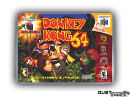 Donkey Kong 64 N64 Nintendo 64 Game Case Box Cover Brand New Pro ...