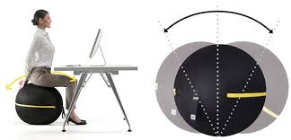 Stability Ball Desk Chair by Active Sitting Exercise Ball Vs Office Chair