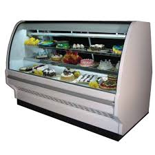 Howard McCray 99 Remote Curved Glass Bakery Case