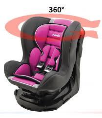 si e auto isofix groupe 0 1 siège auto revo 360 pivotant et inclinable gr 0 1 4 coloris