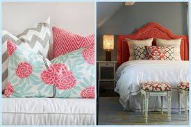 Coral Color Interior Design by Bedroom Decor Coral Interior Design