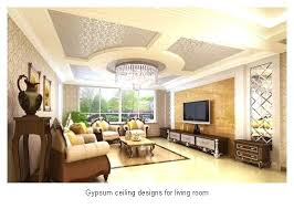 Living Room Gypsum Ceiling Designs For Ideas Fall Home On Drywall Interior