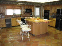 seal mexican saltillo tile clean mexican tile floor restore