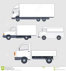 100 Sabinas Cars And Trucks Set Of Different Van Truck Bodies Stock Vector Image