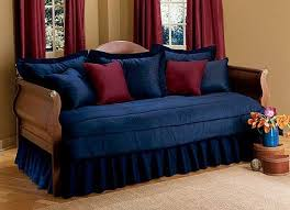 Blue Jean Denim Daybed Set Dark Indigo