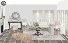 Chelsea Rustic Glam Living Room