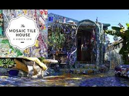 of the mosaic tile house of venice california