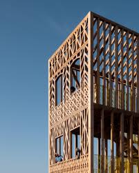 100 What Is A Terraced House Studio Weave Builds 33 A Viewing Tower That Looks Like A House In