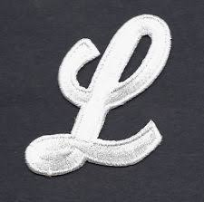 Iron on Applique Letters