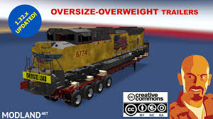 OVERSIZE-OVERWEIGHT TRAILERS U.S.A. 1.32.x Mod For American Truck ... Beamng Drive Alpha Pickup Truck Trailer On Small Island Usa Mack Builds Worlds Most Expensive Truck Malaysian Sultan Takes Volvo Presents New 2015 Vnl 780 To Safety Program Desi Trucking Refrigerated Fancing Lenders Remote Control Rc Tractor Semi 18 Wheeler Style Fuel Tank 10 Ats Mods American Simulator Fitzgerald Trucks Trailers Wreckers And More American Trailers Pack 121x For Ets 2 Euro Simulator Mods Johnnyroetsftairnewodtruckforsale Freightliner Doepker Dealer Saskatoon Frontline This Selfdriving Has No Room For A Human Driver Literally