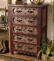 Alder Wood Chest Of Drawers