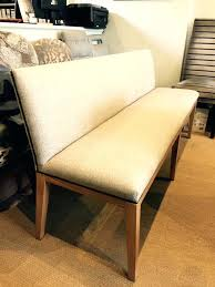 Upholstered Benches With Backs Bench Back Dining Room Ideas Decor