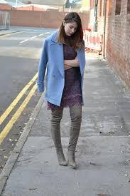 Womens Affordable Highstreet Fashion Blog Featuring British Street Style Topshop Knitted High Neck Jumper Dress