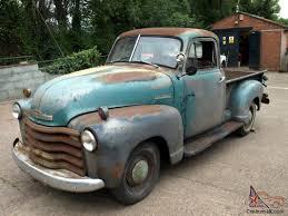 Chevrolet 3100 1/2ton Pickup 1951