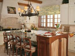French Country Kitchen Curtains Ideas by Photo Page Hgtv French Country Kitchen Furniture Sensational 43