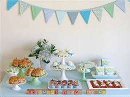 Decorating Ideas For Baby Showers Dessert Table