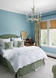 Blue Walls In Pretty Bedroom