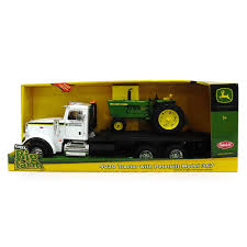 John Deere Big Farm 4020 Tractor With Peterbilt Model 367 Truck ...