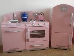 Kidkraft Vintage Kitchen Pink For Retro 43 Costco