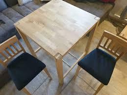 bartisch küchentisch barstuhl set dänisches bettenlager
