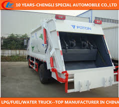 Small Garbage Truck 6 Cubic Meter 4*2 Mobile Mini Garbage Compactor ...