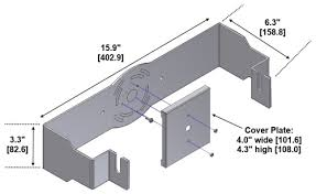 wall mounting brackets for activeled皰 8 11 compact series