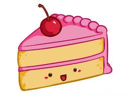 cartoon cake slice clipart