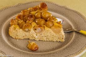 dessert aux raisins frais gâteau aux raisins et aux noisettes kilometre 0 fr
