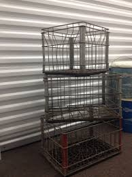 100 Steel Shipping Crates Metal Dairy Crates Things To Sell Metal