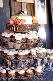 Cupcake Setup For A Rustic Wedding Himisspuff