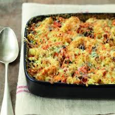recette gratin de pâtes aux légumes du soleil fromage râpé