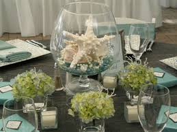 Beach Theme Wedding Reception Centerpieces