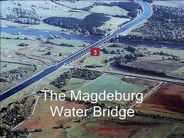 100 Magdeburg Water Bridge Germany The Wasserstraenkreuz