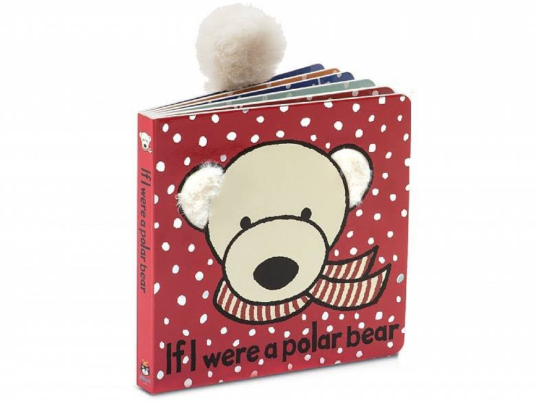 Jellycat Board Books - If I Were a Polar Bear, 6""