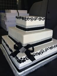 Square Wedding Cakes Gallery