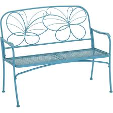 Free Shipping. Buy Mainstays Butterfly Outdoor Patio Bench ... Fniture Target Lawn Chairs For Cozy Outdoor Poolside Chaise Lounge Better Homes Gardens Delahey Wood Porch Rocking Chair Mainstays Double Chaise Lounger Stripe Seats 2 25 New Lounge Cushions At Walmart Design Ideas Relax Outside With A Drink In Dazzling Plastic White Patio Table Alinum And Whosale 30 Best Of Stacking Mix Match Sling Inspiring Folding By