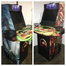 Mortal Kombat Arcade Cabinet Plans by Mame Cabinet U2013 Archayde Moose Gaming