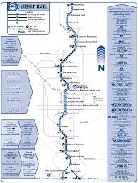 Baltimore Light Rail Map tram • Mapsof