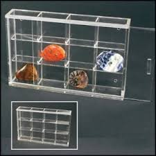 Image Is Loading Rock Display Case Midi Acrylic Glass Curio W