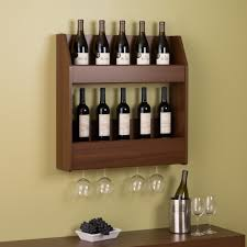 Locking Liquor Cabinet Amazon by Amazon Com Prepac 2 Tier Floating Wine And Liquor Rack Warm
