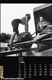 Blast From The Past For Its 2014 Calendar Pirelli Released An Unpublished Set Of