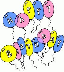 Animated happy birthday clipart clipart